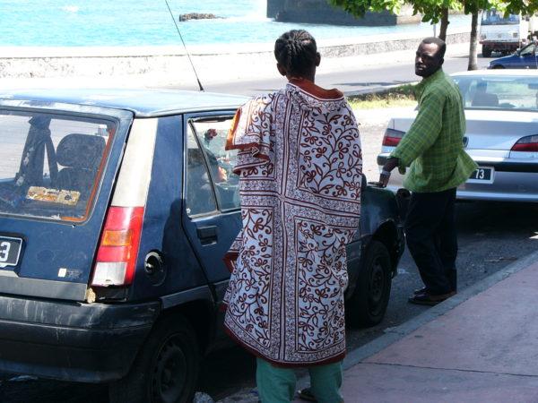 モロニの町の雰囲気はスワヒリそのもの